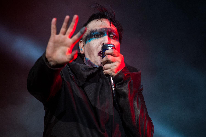 Marilyn Manson, Schockrocker live bei Rock im Park