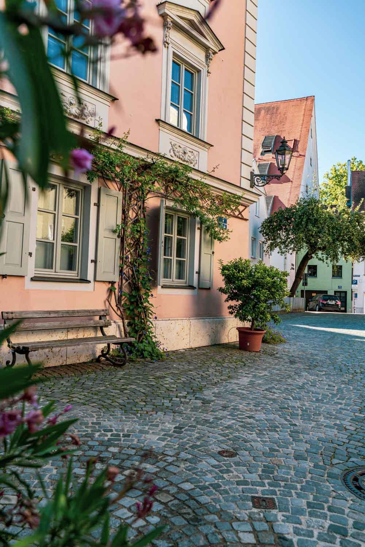 Regensburg,StadtamHof, Sommertag, Welterbe